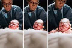 Las imágenes capturadas por la fotógrafa durante el parto de su segundo hijo, Easton. M. Mattiuzo