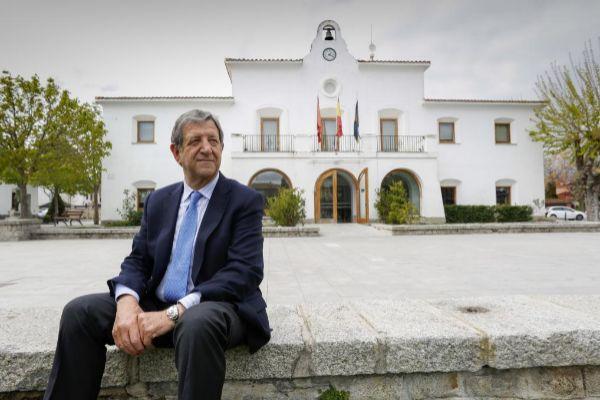 Luis Partida, alcalde de Villanueva de la Cañada