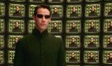 El actor Keanu Reeves en la película 'Matrix Revolution'