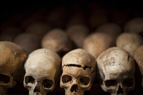 Memorial de Nyamata para víctimas del genocidio de <HIT>Ruanda</HIT>. / ALBERTO ROJAS