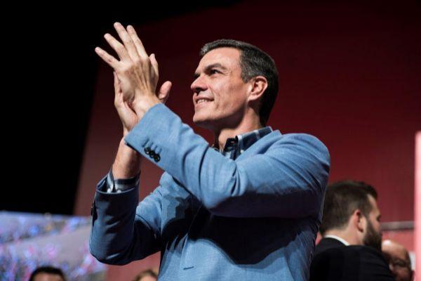 El presidente del Gobierno, Pedro Sánchez, en un acto celebrado en Cáceres el pasado miércoles.