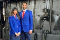 Nuevo uniforme de los trabajadores del Metro de Madrid.