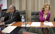 Miguel Ángel Ferna?ndez Ordóñez y Elena Salgado
