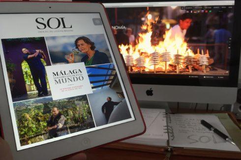 Una aplicación digital destinada a promocionar la Costa del Sol malagueña.