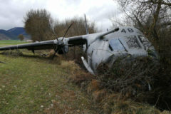 Así ha sido el accidente del avión de la UME en Jaca