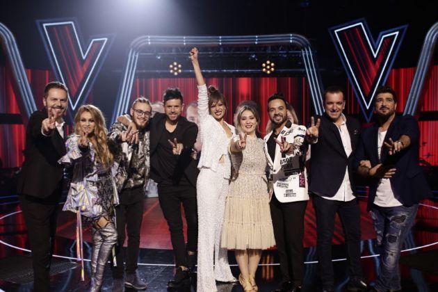 Los finalistas de La Voz en Antena 3, Ángel Cortés, Andrés Martín,...