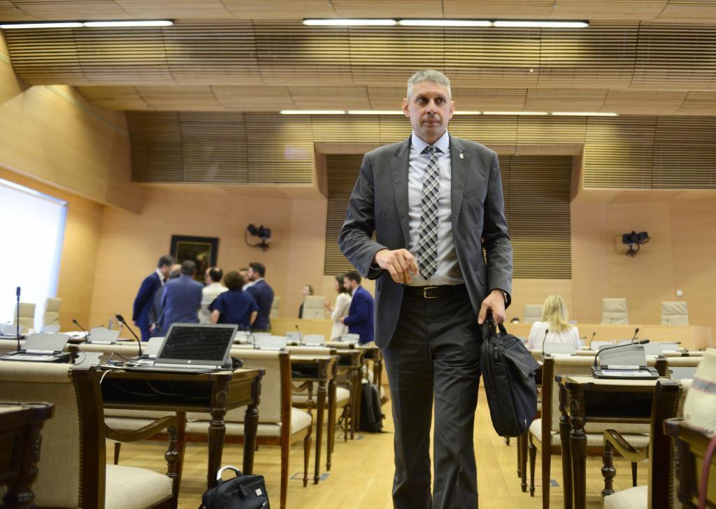 José Ángel Fuentes Gago, en una comparecencia en el Congreso.