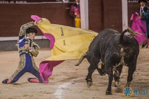 Robles en su última actuación en Madrid donde dio una vuelta al ruedo