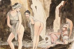 """Milo Manara: """"El culo femenino me recuerda la perfección del universo"""""""