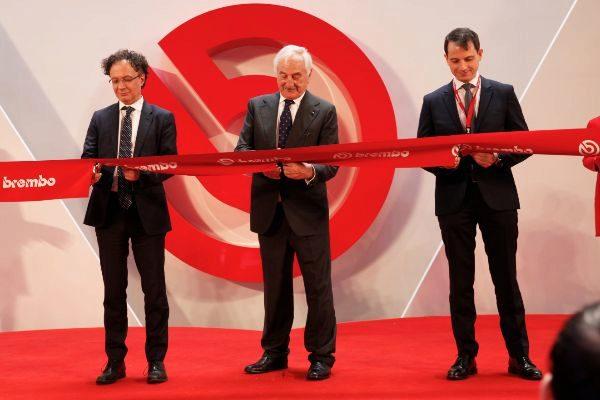 Brembo inaugura su tercera planta en China