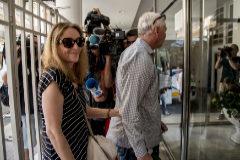 María José Carrascosa, el día que volvió a Valencia en agosto de 2017.