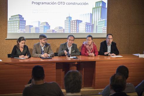La Oficina de Transformación Digital (OTD) de la construcción, situada en el Colegio Territorial de Arquitectos de Castellón, se presentó este miércoles.