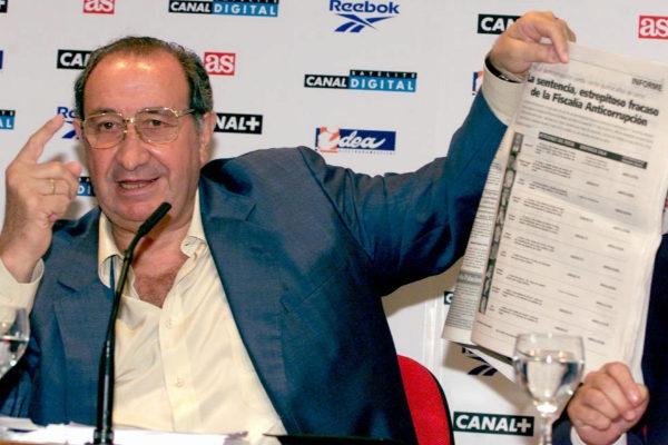 El ex alcalde de Marbella y ex presidente del Atlético de Madrid Jesús Gil.