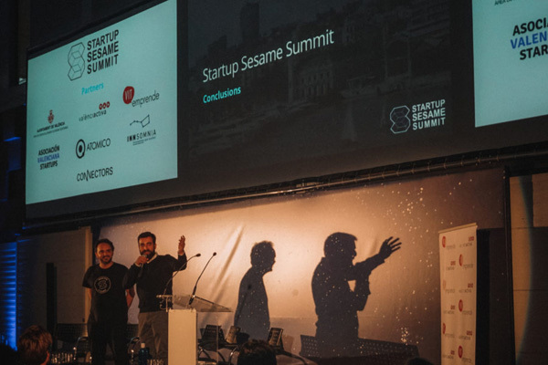 El panel final del Sesame Summit 2018 con Ben Costantini y Javier Mateo.