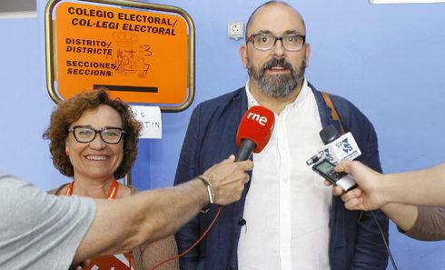 Nomdedéu y Brancal están investigados por unos hechos de 2014 cuando estaban en el Ayuntamiento de Castellón en la oposición.