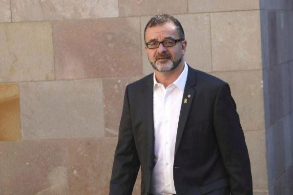 Antonio Moreno 26.03.2019 Barcelona Cataluña. El conseller <HIT>Alfred</HIT> <HIT>Bosch</HIT> en la Generalitat antes de la reunión de Govern.