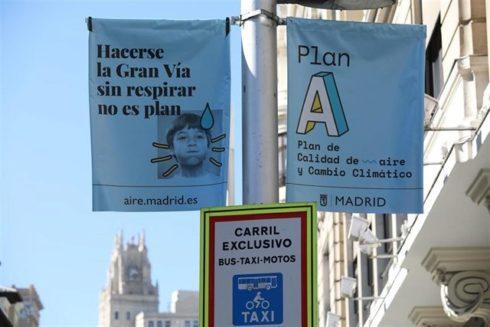 Imagen de la publicidad sobre el Plan A