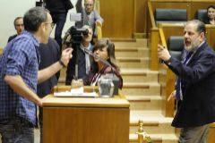 """Bildu llama """"nazis"""" en el Parlamento vasco a representantes policiales"""