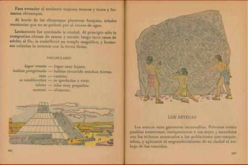 El libro de segundo de primaria que se impartía en 1960 en México del archivo histórico de la secretaria de educación pública.