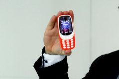 El actual presidente de Nokia, Florian Seiche durante una presentación.
