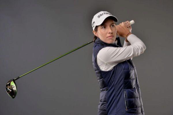 Carlota Ciganda, la golfista criada en el fútbol