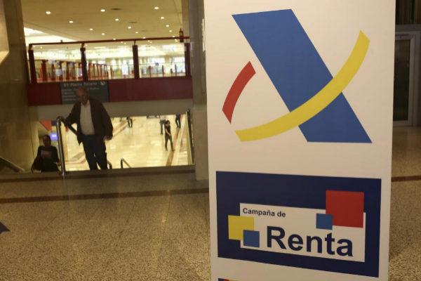 Campaña de la Renta en una Administración de Madrid