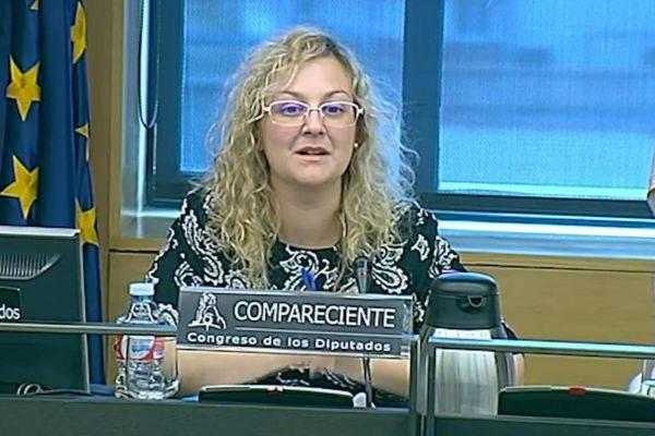 María Sevilla, presidenta de la asociación Infancia Libre, detenida...