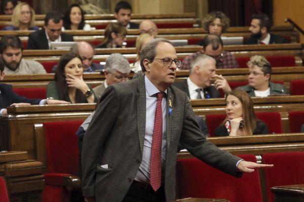 Joaquim Torra, presidente de la Generalitat de Cataluña.