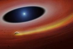 Un fragmento planetario orbita la enana blanca SDSS J1228+104