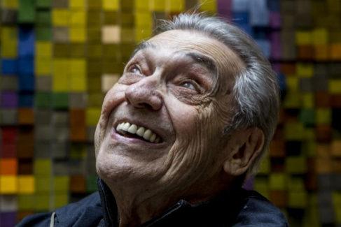 Alberto Cortez, en 2016 durante una entrevista.