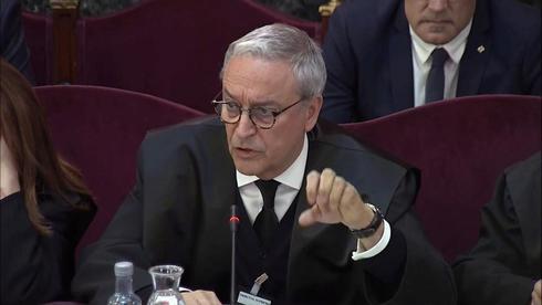 Xavier Melero, abogado de Joaquim Forn, en la sesión del juicio...