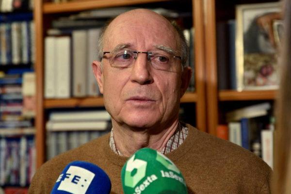 Ángel Hernández, tras quedar en libertad sin medidas cautelares.