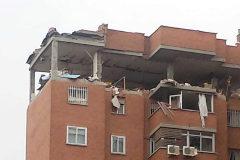 Una explosión de gas hace desaparecer un piso en Puente de Vallecas