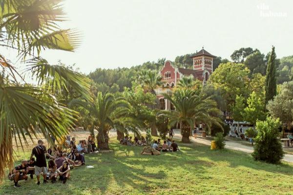 El jardín de Vila Habana, en la pasada edición del festival MO_BA.