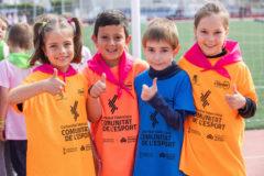Más de 150.000 escolares celebran el Dia de l'Esport