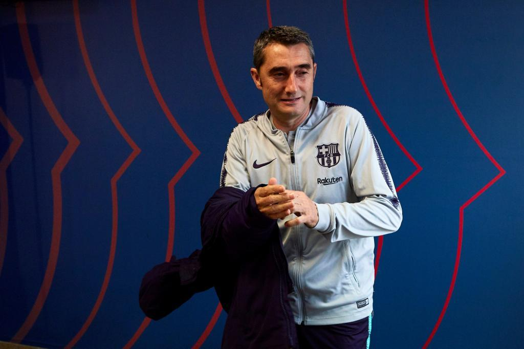 Valverde, durante la rueda de prensa.