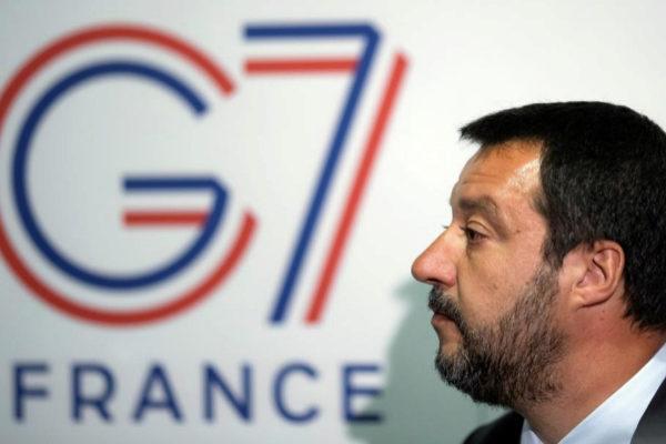 El ministro italiano del Interior, Matteo Salvini.