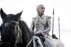 La actriz Emilia Clarke, en la octava y última temporada de 'Juego de tronos'.