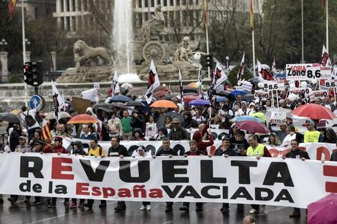 Manifestación de la España vaciada