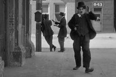 Uno de los rasgos más característicos de Charles Chaplin eran sus andares.