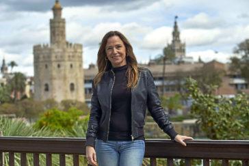 La candidata del PP por Sevilla, Teresa Jiménez Becerril