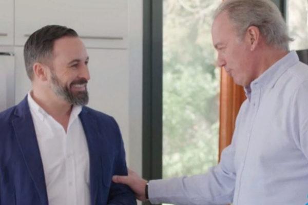Abascal y Bertín en el programa 'Mi casa es la tuya'.