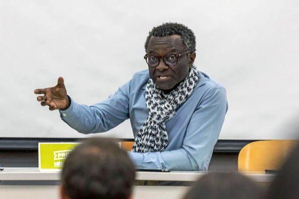 Guillem Balboa, el jueves durante una conferencia en la Universidad Complutense de Madrid.