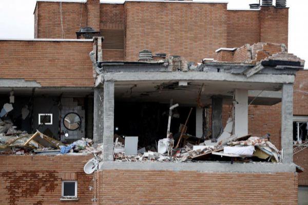 El Ayuntamiento afianzará el edificio siniestrado por una explosión en Vallecas