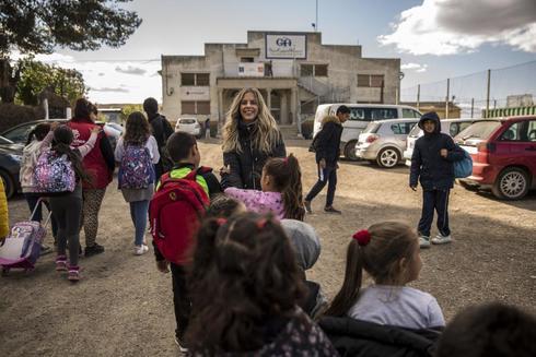 Los niños de la Cañada llegan a las aulas de Cáritas.