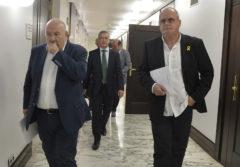 """Joseba Egibar considera una """"provocación""""  la presencia de policías de Juspasol en la Cámara"""
