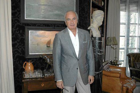 El presidente de la Federación Andaluza de Urbanizadores y Turismo Residencial, Ricardo Arranz.