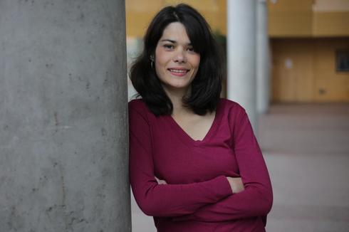 Isabel Serra en la Asamblea de Madrid.