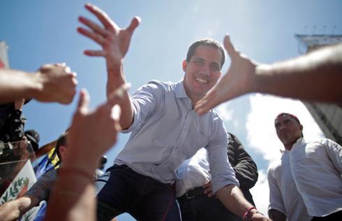Rally against Venezuelan President Nicolas Maduro's government in...