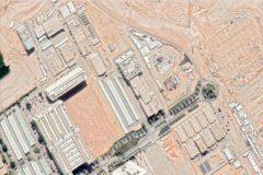 Vista de las instalaciones a través de Google Earth.